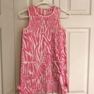 Girls Lilly Pulitzer shift dress size10